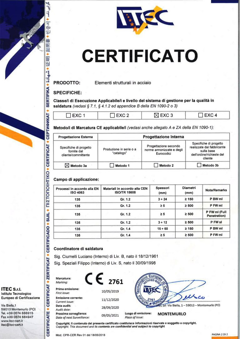 ISO 1090 EXC3
